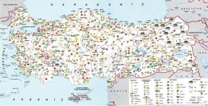 Türkiye tarım ve hayvancılık haritası