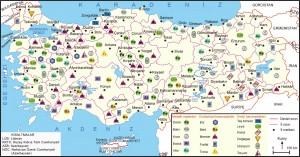 türkiye maden haritası