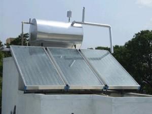 güneş enerjisinden sıcak su elde etme