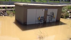 yağmur suyu elektrik çarpması
