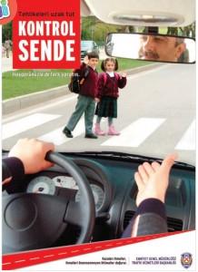 hoşgörü trafik afişi