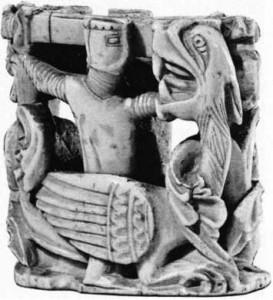 13. yüzyıl satranç taşı