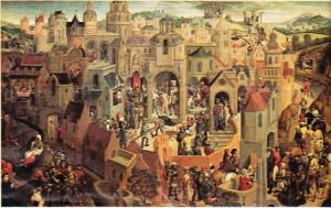 Hans Memling'in İsa'nın Çilesi adlı tablosu