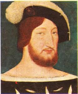 François I'in 1525 yılma doğru yapılmış olan portresi
