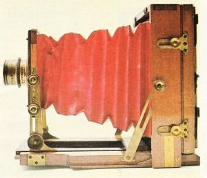 """J. Lancaster ve oğlunun (Birmingham) """"enstantograf""""ı (1892; 112 'lik levha)."""