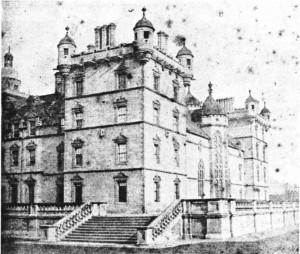 XIX. yy'da Fox Talbot'un elde ettiği negatif (Lacock Abbey).
