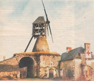 Anjouda (Maine-et-Loire) bir yeldLeğirmeni.
