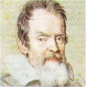 Galileo Galilei'nin Ottavio Leoni tarafından yapılmış portresi.