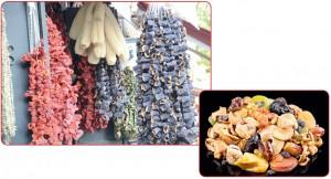 besin maddelerinin kurutulması