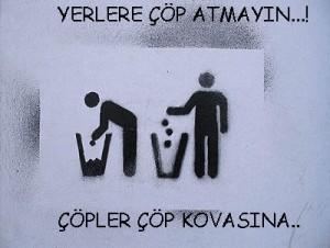 dikkat çöp atma