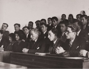 Atatürk hukuk fakültesi öğrencileri ile