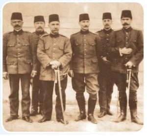 Hareket Ordusu Kurmay Başkanı Mustafa kemal