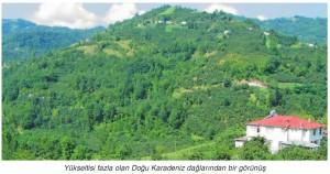 Karadeniz nüfus seyrek yerleşmiştir