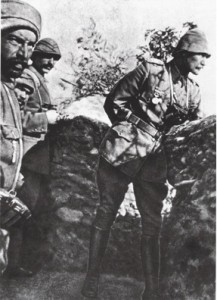 Mustafa Kemal Çanakkale cephesinde