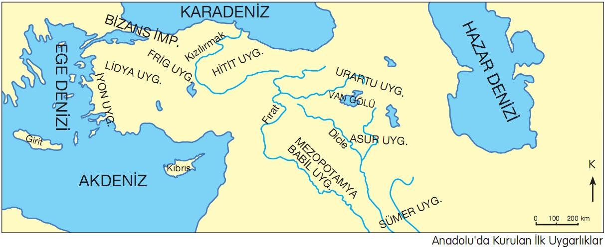 Anadoluda Türklerden Önce Hangi Uygarlıklar Yaşadı