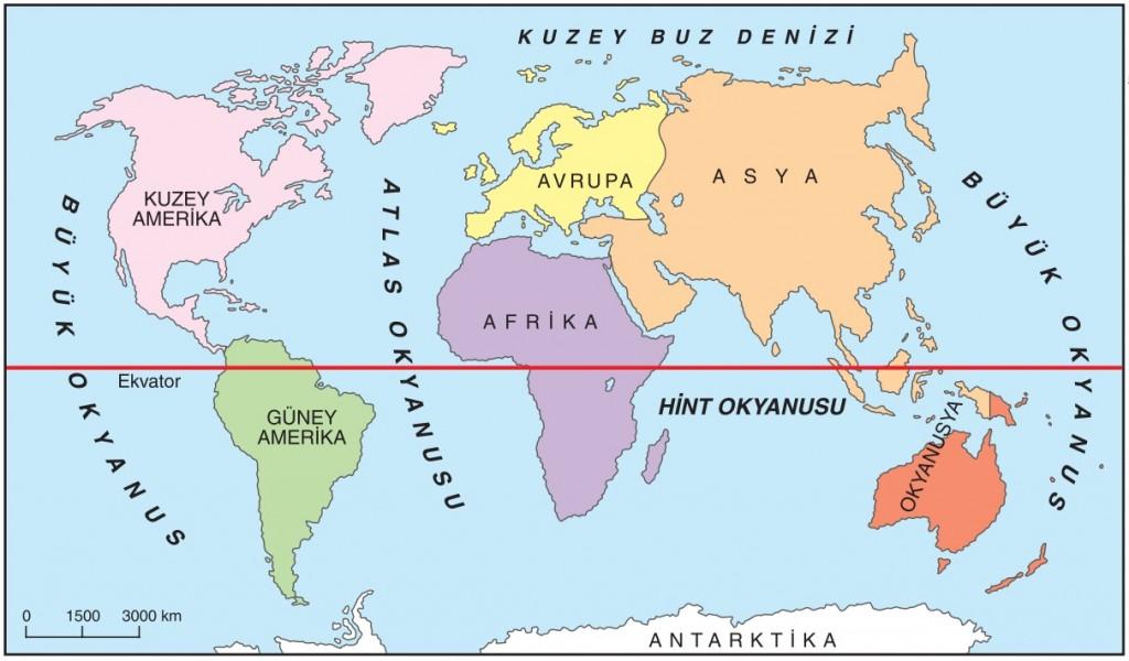 Türkiye hangi kıtada