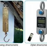 dinamometre geçici şekil değişkliği