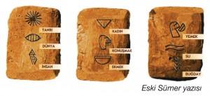 eski sümer yazısı
