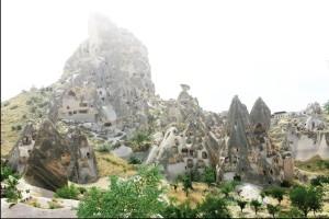 kapadokya peribacaları