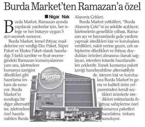 ramazan yardımları gazete haberi