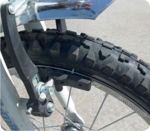 sürtünme ile bisiklet durur