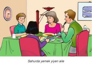 sahur yemeği