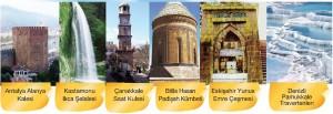 tarihi mekanlar broşürü