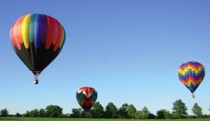 uçan balonlar havada nasıl duru