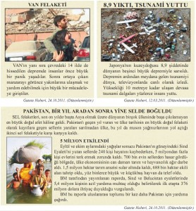 ülkemizde ve dünyada deprem haberleri