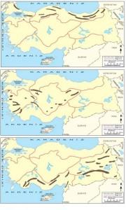 bölgeler arası dağların benzerlikleri