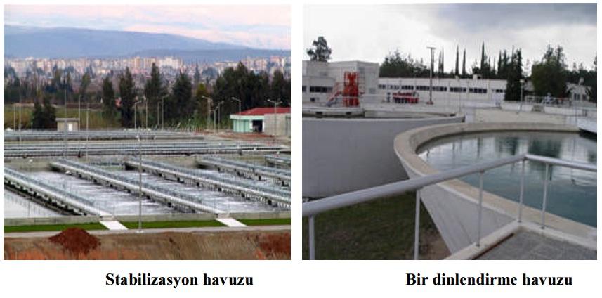 su arıtma havuzları
