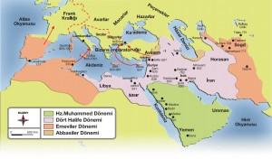 İslamın yayılma haritası