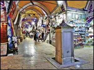 İstanbul kapalı çarşısı