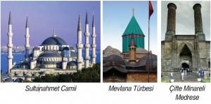 şehirlerin sembolü olmuş tarihi eserler