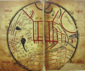 Kaşgarlı Mahmutun dünya haritası