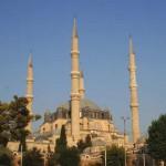 Selimiye camisinden bir görünüş