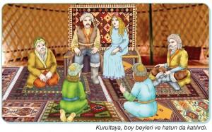 Türk kurultayı örneği