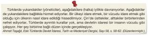 türk yönetimi ile çin yönetimi