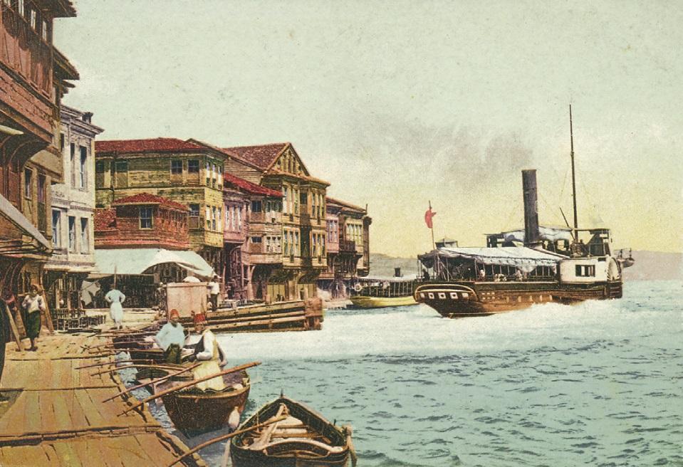 ulaşımda buharlı gemilerin kullanılması