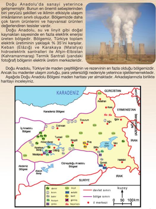 Doğu Anadolu bölgesinin ülke ekonomisine katkıları