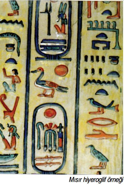 Mısır hiyeroglif örneği