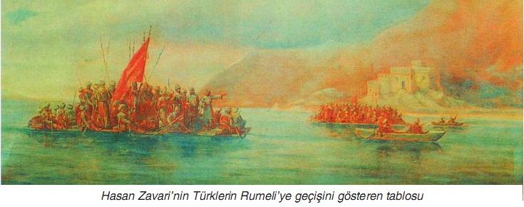 Osmanlının güçlü bir devlet olması rumeliye geçişi