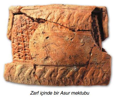 Zarf içinde bir Asur mektubu