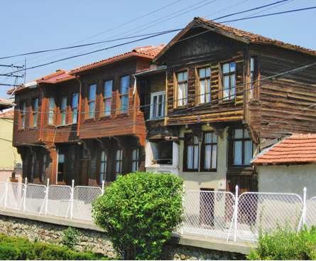 eski edirne evleri