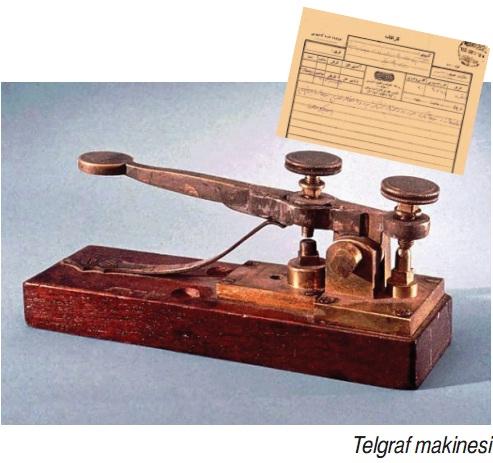 telgraf makinesi