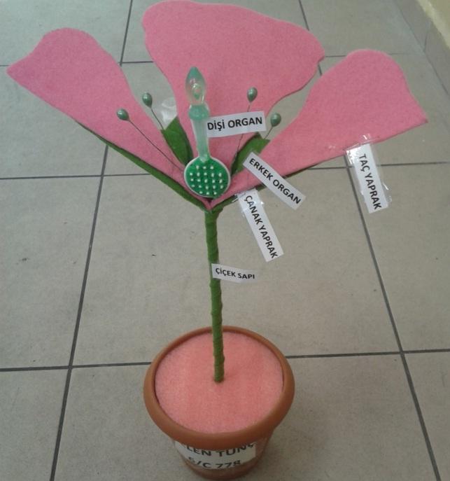 çiçek yapım modeli