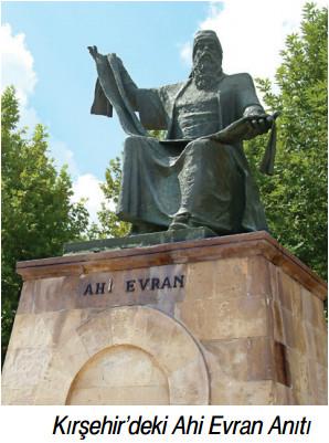 ahi evran anıtı