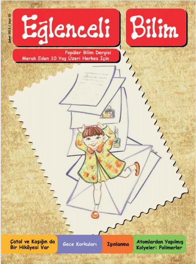 eğlenceli bilim dergisi kapağı