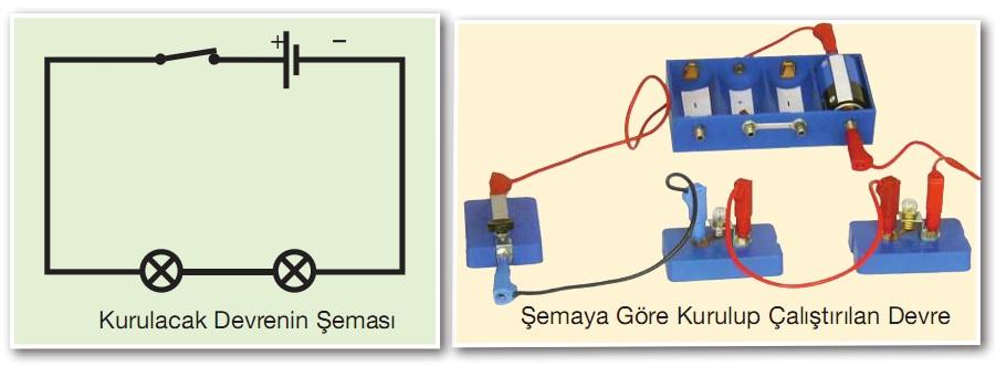 elektrik devresi şeması