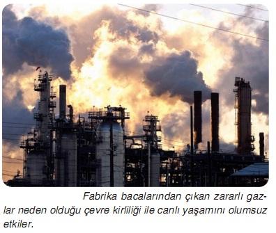 fabrika bacalarının gazları